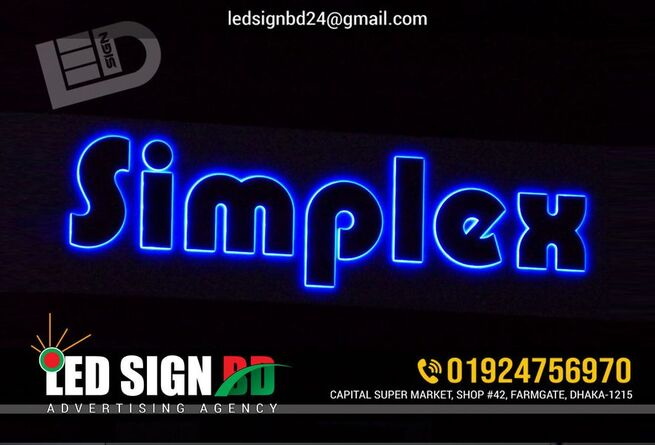 Led Sign Board Neon Sign Board SS Sign Board Name Plate Board LED Display Board ACP Board Boarding A