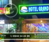 Manufacturer of Neon Signage Neon Sign Board & Neon Light with Acp Board Background Neon Sign for Ou