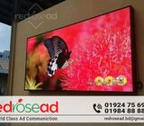LED display is a flat panel display that uses an array
