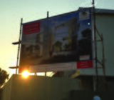 Construction Project Sign Board & Pylon Project Sign Board with Monument Project Sign Board for Cust