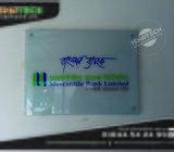 Glass Name Plate & UV Print Nameplate Wall Branding for Indoor Bank Name Plate in Bangladesh.