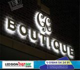 Acrylic letter, LED Sign Acrylic Letter,p10 Moving Display Board